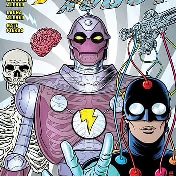Mike Allred Laura Allred and Nate Piekos Launch X-Ray Robot at Dark Horse in March