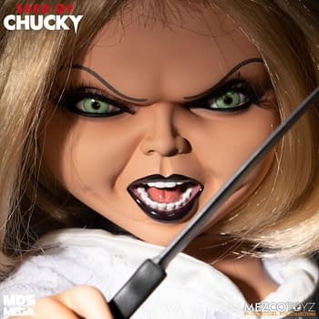 Mezco Gives a Voice to Tiffany from Seed of Chucky with New Doll