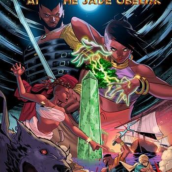 Changa and the Jade Obelisk #1 Sword &#038 Soul a Fantasy Comic Series Launching on Kickstarter