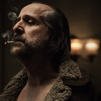 American Gods Season 3: Peter Stormares Czernobog Bringing Back Hammer Smokes Ricky Whittle &#038 Lela Lorens Icy Bond [VIDEO]