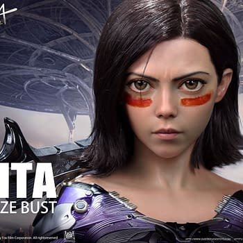 Alita: Battle Angel Gets a Life Size Busts From Queen Studio