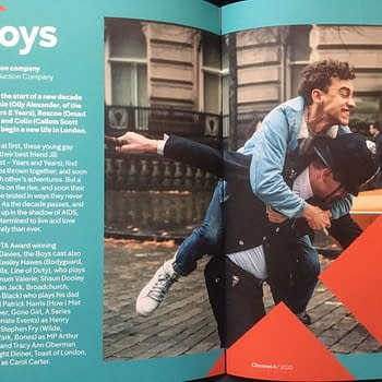 First Glimpse of Olly Alexander in Russell T Davies Boys From Channel 4