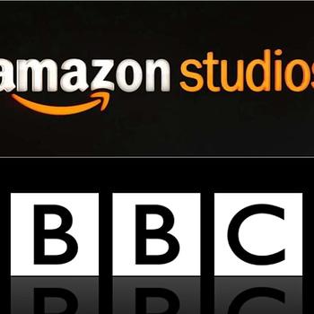 The Offenders: Stephen Merchant (The Office) Elgin James (Mayans M.C.) Team for BBC/Amazon Studios Series