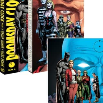 Doomsday Clock Slipcase, Free With Vol 2, Only in Comic Book Stores