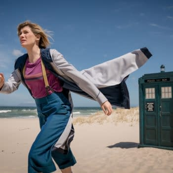 Jodie Whittaker as The Doctor - Doctor Who _ Season 12, Episode 6 - Photo Credit: Ben Blackall/BBC Studios/BBC America