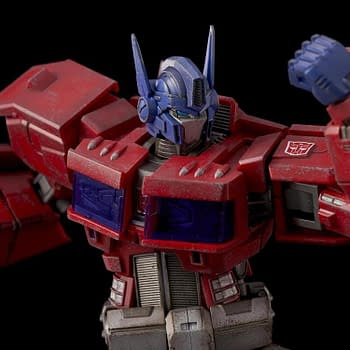 Optimus Prime Gets a Comic Book Makeover with Flame Toys [Recap]
