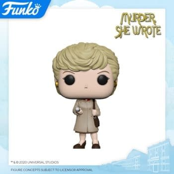 """Funko Reveals First Ever """"Murder She Wrote"""" Pop at London Toy Fair"""