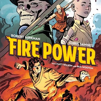 Kirkman and Samnees Fire Power Gets Prequel OGN Before Series Launch