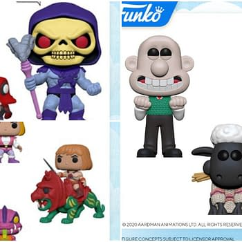 Funko London Toy Fair 2020 Reveals: Wallace and Gromit MOTU
