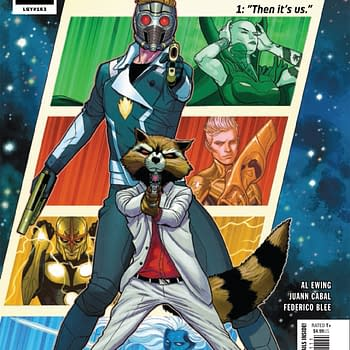 REVIEW: Guardians Of The Galaxy #1 &#8212 Theres An Idiotic Kind Of Glee To This