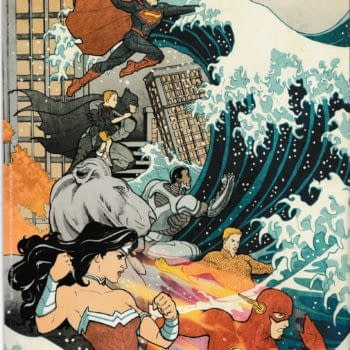Unboxing Billy Tucci's Hokusai Justice League in Loot Crate's Squad