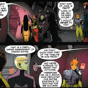 Damian Wayne &#8211 Baby Hitler Legion Of Super-Heroes #3 Spoilers