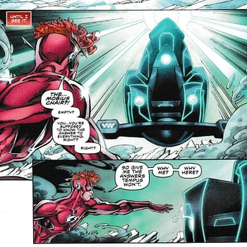 Wally West Gets Closer And Closer to a Big Sit Down (Flash Forward #5 Spoilers)
