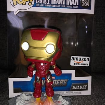 Funko Avengers: Assemble Iron Man Pop Vinyl Has Finally Landed