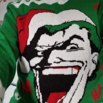 The Kyle Baker Joker Christmas Sweater That Kyle Baker Wouldn't Wear