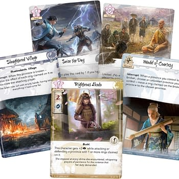 Fantasy Flight Games Previews Clan War &#8211 Legend of the Five Rings