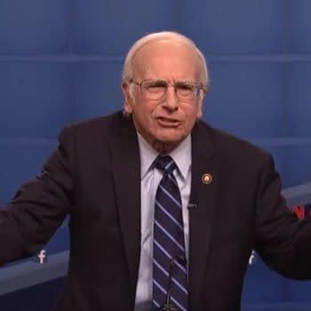 """""""Colbert"""": Larry David """"Jokes"""" Hoping Bernie Sanders Loses to Not Return to SNL"""
