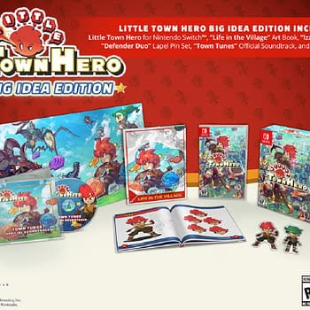 Little Town Hero Big Idea Edition Is Getting A Physical Release