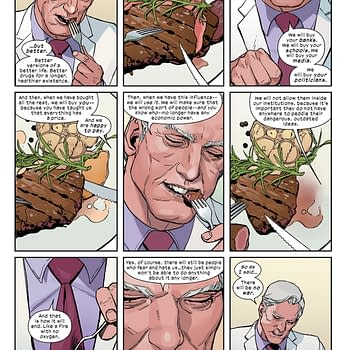 Magneto is the Master of Magnetism But He Sucks at Table Manners