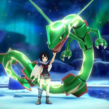 Rayquaza &#038 Trainer Zinnia Have Arrived In Pokémon Masters