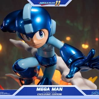 Mega Man Charges Up with New Statues from First 4 Figures