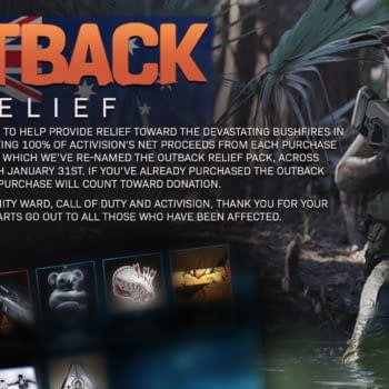 """""""Call Of Duty: Modern Warfare"""" Launches """"Outback Relief"""""""