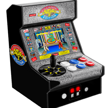 """My Arcade Announces """"Super Retro Champ"""" & """"Street Fighter II"""" Items At CES 2020"""