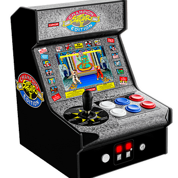My Arcade Announces Super Retro Champ &#038 Street Fighter II Items At CES 2020