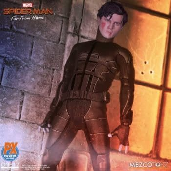 Spider-Man Stealth Suits Becomes PX Exclusive from Mezco Toyz