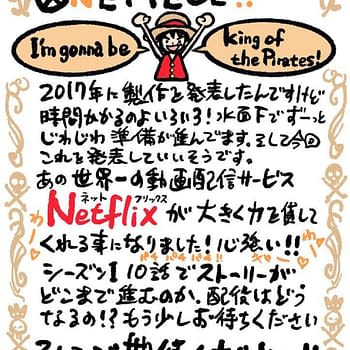 One Piece: Netflix Orders 10-Episode Live-Action Series from Tomorrow Studios Shueisha