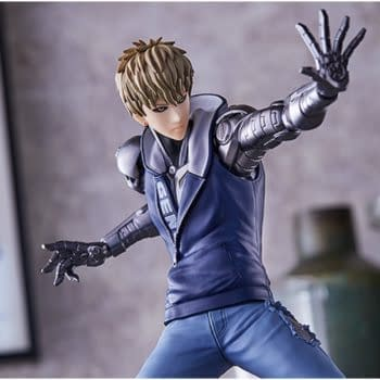 """""""One Punch Man"""" Genos Is Here From Good Smile Company"""