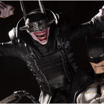 The Batman Who Laughs Wants Blood in New DC Collectibles Statue