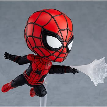 Spider-Man Swings On In with New Deluxe Nendoroid Figure