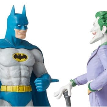 Batman and Joker Share the Spotlight With New Statue From Enesco
