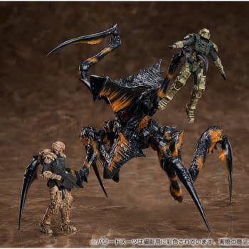 """""""Starship Troopers"""" Bugs Come to Life with Good Smile Company"""