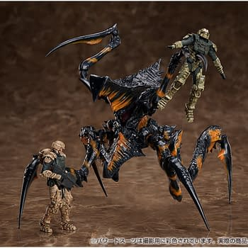 Starship Troopers Bugs Come to Life with Good Smile Company