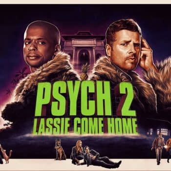 James Roday as Shawn Spencer and Dule Hill as Gus Guster in Psych 2 (Photo: Peacock)