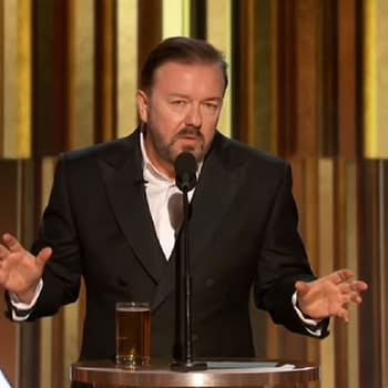 Golden Globes: Ricky Gervais Nuclear Monologue Has Us Believing It Will Be His Last Turn as Host [VIDEO]