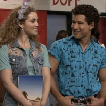 """""""Saved by the Bell"""": Mario Lopez, Elizabeth Berkley Mark First Day of Shooting Sequel Series"""