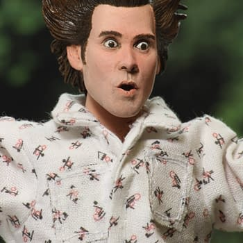 Ace Ventura is Here and Ready To Go In Coach with NECA