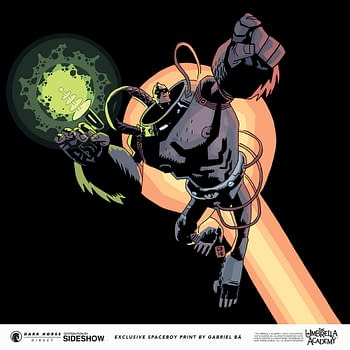 Umbrella Academy Spaceboy Gets a New Statue from Dark Horse