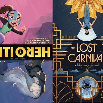 DC Comics Posts BookTubers PR Plans With For YA Graphic Novels Lost Carnival: Dick Grayson and Anti/Hero