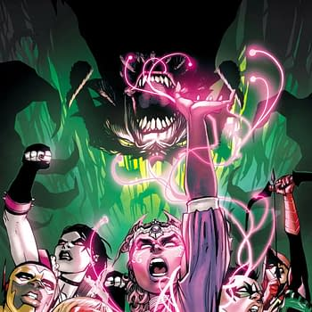 In Aprils Teen Titans #41&#8230 a Teen Titan WILL DIE Plus: Damian Wayne Robin No More