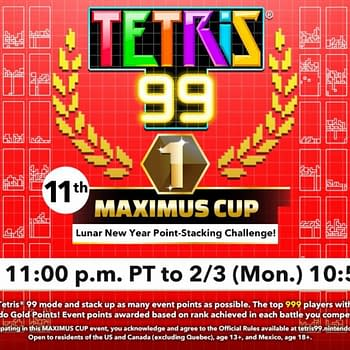 Tetris 99 Will Be Throwing A Lunar New Year Maximus Cup