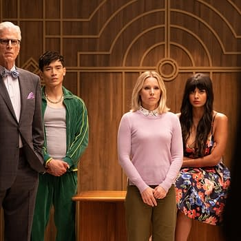 The Good Place S04 Youve Changed Man: Lets Plan The Afterlife Plus Marc Evan Jackson &#038 DArcy Carden Channel Their Inner Steed/Peel [PREVIEW]