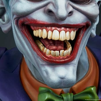The Jokers Gets a Life Size Bust from Sideshow Collectibles