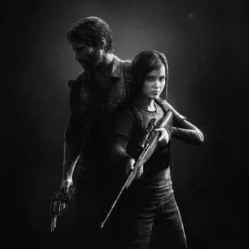 The Last Of Us Part 2 Black and White Credit: Naughty Dog