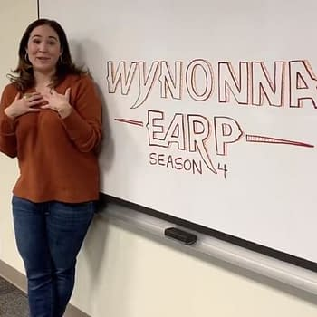 Wynonna Earp: Emily Andras Signals Season 4 Table Read Taking Place #EarpNow [VIDEO]