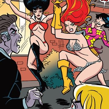 Dan Parent Brings Classic Archie Style to Red Sonja &#038 Vampirella Meet Betty &#038 Veronica #9