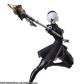 Nier Automata YoRHa 2B Gets Her Own Figure from Bring Arts (Recap)